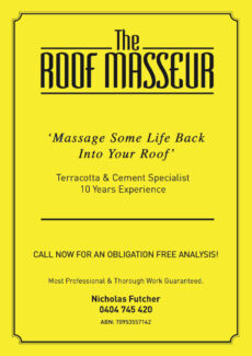 THE ROOF MASSEUR - QUALITY ROOF RESTORATION Marrickville Marrickville Area Preview