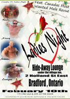 Ladies Night featuring Canadas Most Wanted Male Revue