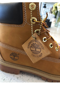 Timberland boots.  Authentic, never worn.