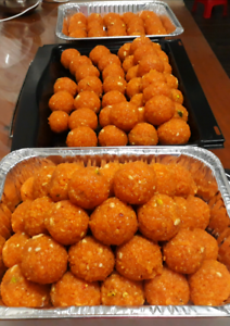 Laddu are available