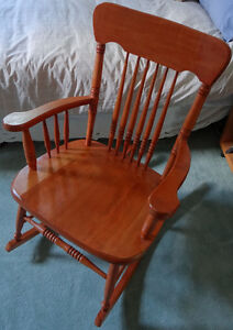 Wooden Rocking Chair For Sale
