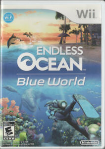 Wii Game - Endless Ocean: Blue World