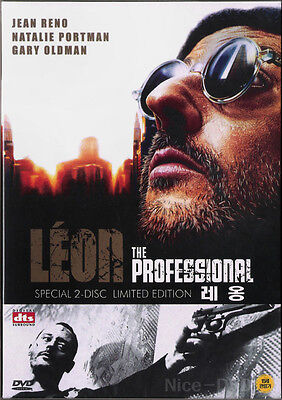 LEON The Professional (1994) 2-DVD Disc SET!! Limited Edition, NEW!! Jean Reno
