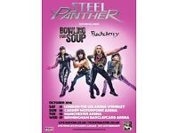 STEEL PANTHER, BOWLING FOR SOUP & BUCK CHERRY AT WEMBLEY SSE ARENA