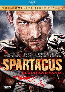 Spartacus-Blood and Sand-4 disc Blu-Ray set-Mint condition
