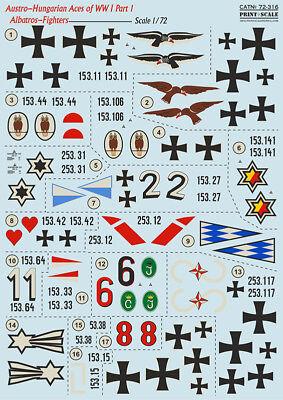 Модели самолетов, вертолетов Print Scale Decals