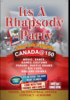 Rhapsody Party! Rhapsody Party!! Rhapsody Party!!!