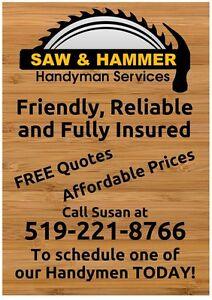 Handyman Services Kitchener / Waterloo Kitchener Area image 1