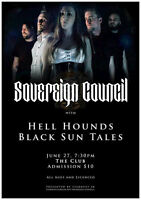 Ontario's Symphonic Metal band Sovereign Council @ The Exchange