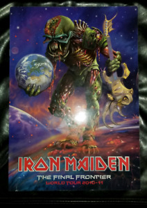 Iron Maiden Final Frontier Tour Program