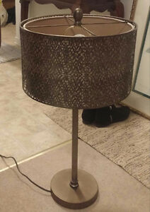 Carved Metal Lamp Shade