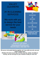 Home and/or Commercial Cleaning Services