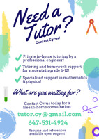Alliston Math Tutor!