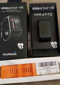 Garmin Vivoactive HR , GPS Smartwatch.
