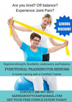 In-Home Personal Training for Seniors