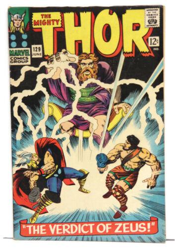 Thor #129 Verdict of Zeus