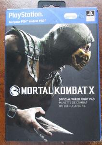 Manette de Combat Mortal Kombat X pour PS4 et PS3