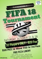 FIFA 18 Playstation 4 Tournament $500 Prize