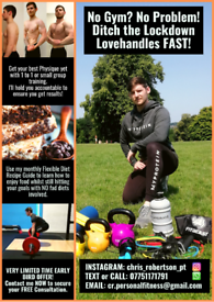 *Nottingham Personal Trainer here to help you achieve your goals!*