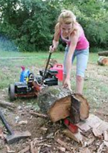 Log splitter Wanted