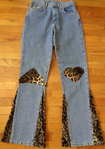 LONG LEG LEOPARDY CALVIN KLEIN DENIM - Size M