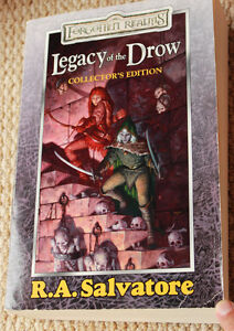 Legacy of the Drow, Collector's Edition, from R.A. Salvatore