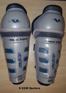 Various Size Hockey Shin Pads