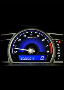 Engine light odometer and corrections