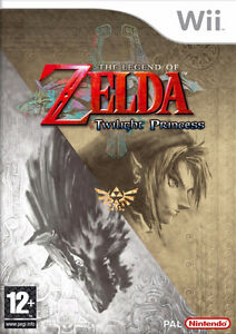 Nintendo Wii with twilight princess