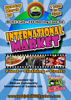 International Market: Food. Fashion, Arts