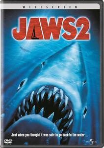 JAWS 2 ET JAWS 3. LES DENTS DE LA MER. DVD. HORREUR.