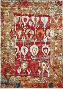 New Valencia Red Vintage Area Rug 7x10 Retails for $1498