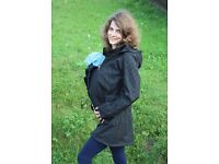 4in1 Softshell baby carrying jacket | Front & back wearing | Maternity Jacket
