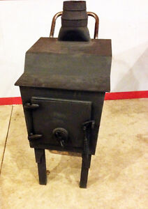 PERFECT & SUPER ROBUST LARGE WOODSTOVE  SEE VIDEO