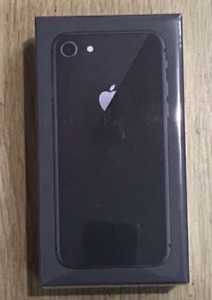 BRAND NEW SEALED IPHONE 8 64GB UNLOCKED BLACK FULL WARRANTY $699