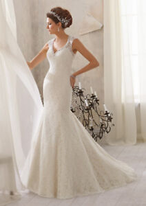 New Wedding Dress- Mori Lee Size 14