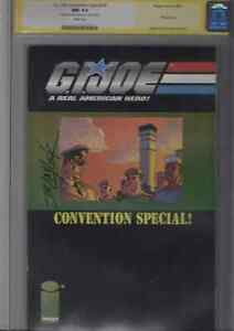 G.I. Joe Convention special #1 CGC signature series