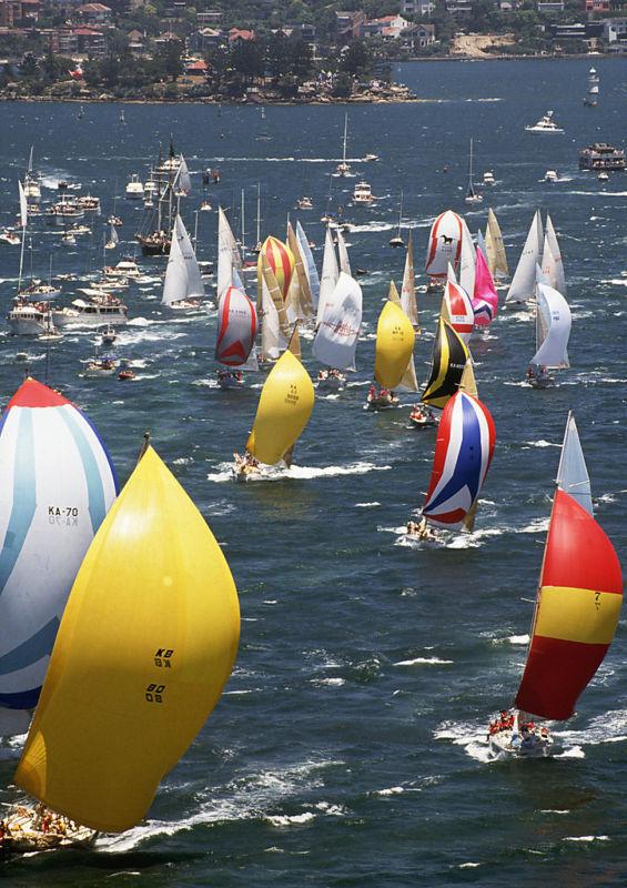 The Rolex Sydney-Hobart Yacht Race