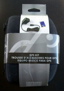 GPS Accessory Kit with Case, Charger