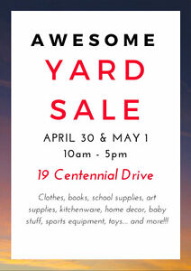 AWESOME YARD SALE!