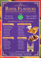 Hyderabadi Indian food catering for all occassions