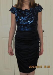 Elegant Le Chateau Cocktail Dress