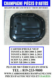 CARTER D'HUILE - OIL PAN - NEUF ECHO, YARIS, PRIUS, SCION