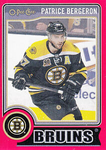 2014-15 OPC RED BORDER # 413 PATRICE BERGERON