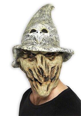 Waldhexen Maske - Halloween Fasching Kostüm - Hexe Vogelscheuche Eule - NEU (Halloween Party Hexen Brauen)