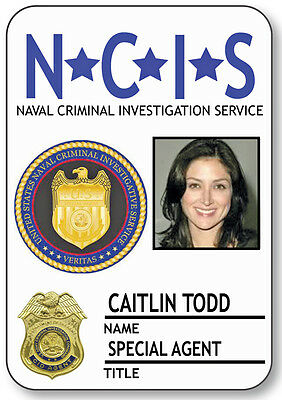 NAME BADGE HALLOWEEN COSTUME CAITLIN TODD SPECIAL AGENT NCIS SAFETY PIN BACK](Ncis Halloween Special)