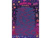 parklife weekend ticket