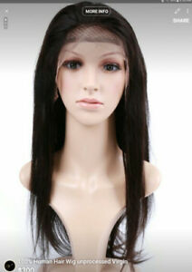 100% Human Hair 8a quality virgin UNPROCESS wigs