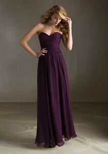 Purple Bridesmaid/Grad Dress