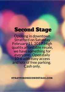 Second Stage Grand Opening Sat February 11
